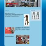 příklad webové stránky pro obchod s oblečením - obchodukarla.cz