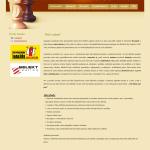 Příklad webové stránky - kontrola smluv k nemovitosti
