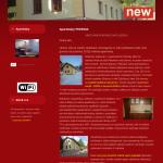 Ukázková webová stránka pro ubytování