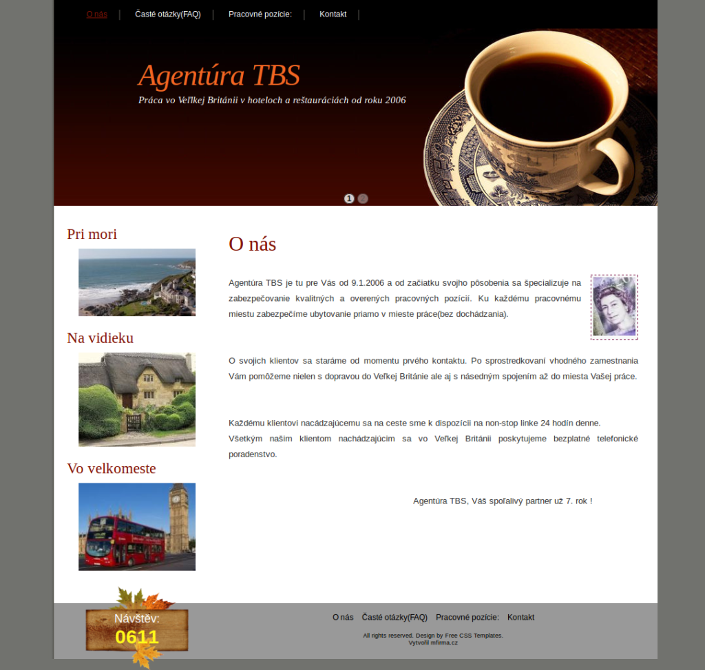 Agentura pro práci v zahraničí - Agentura TBS