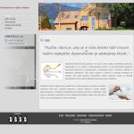 Příklad webové stránky pro realitní a developerskou činnost - společnost ON4YOU