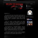 Příklad webové stránky - tirka s potiskem - triko4all