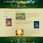 Příklad webová stránky - Iboga terapie