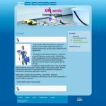 Ukázková webová stránka úklidového servisu - KMU-servis