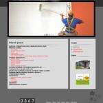 Ukázková webová stránka stavební společnosti - POLCR