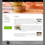 Ukázková webová stránka pro finanční služby - Pokorná