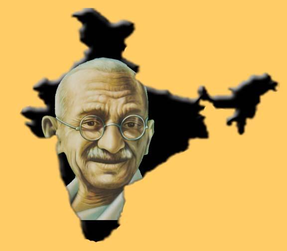 Mahatma_Gandhi_India